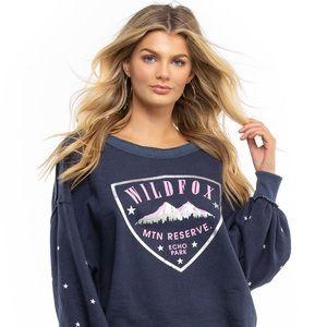 Wildfox Echo Park Crest Sweatshirt